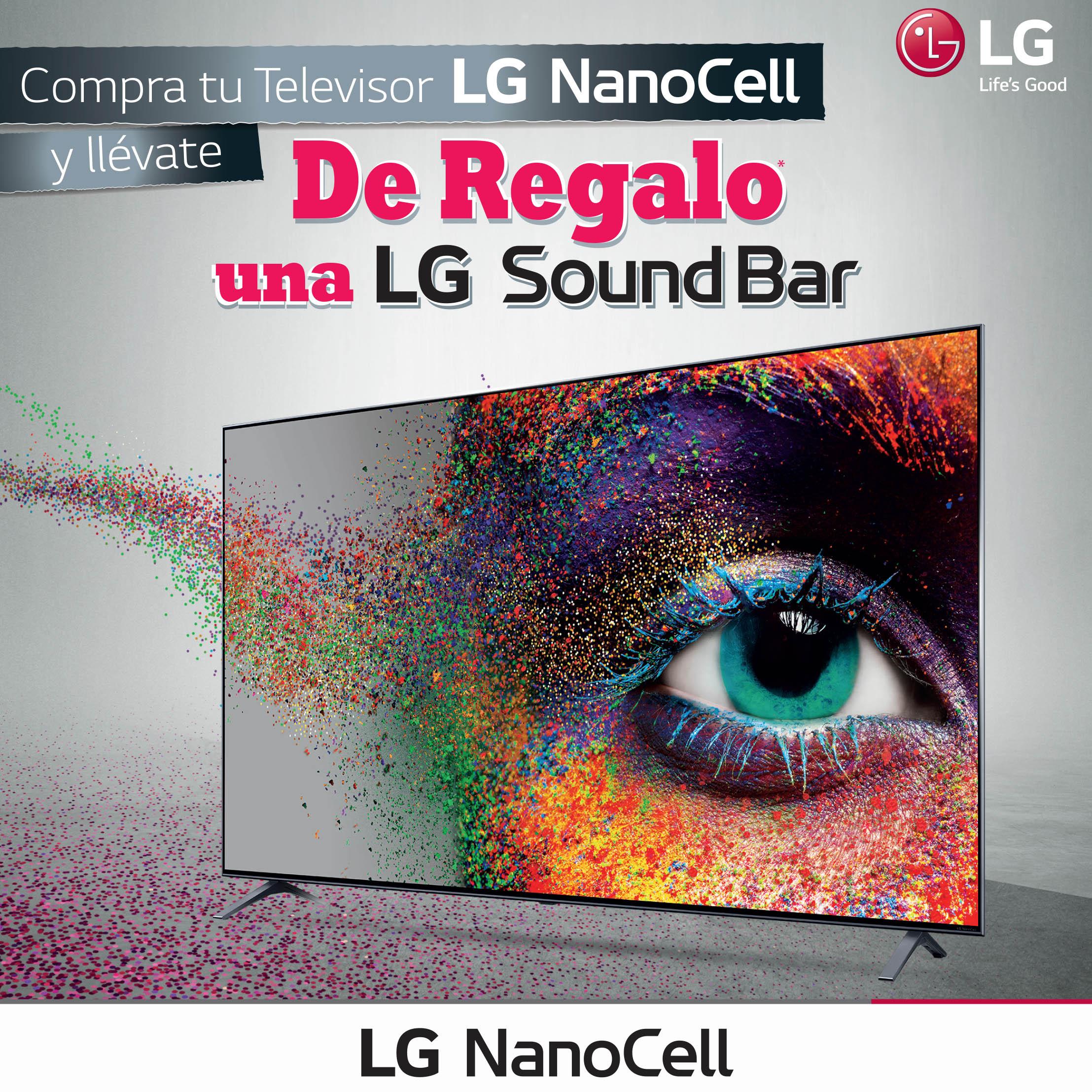 Promoción televisor Nano Cell LG