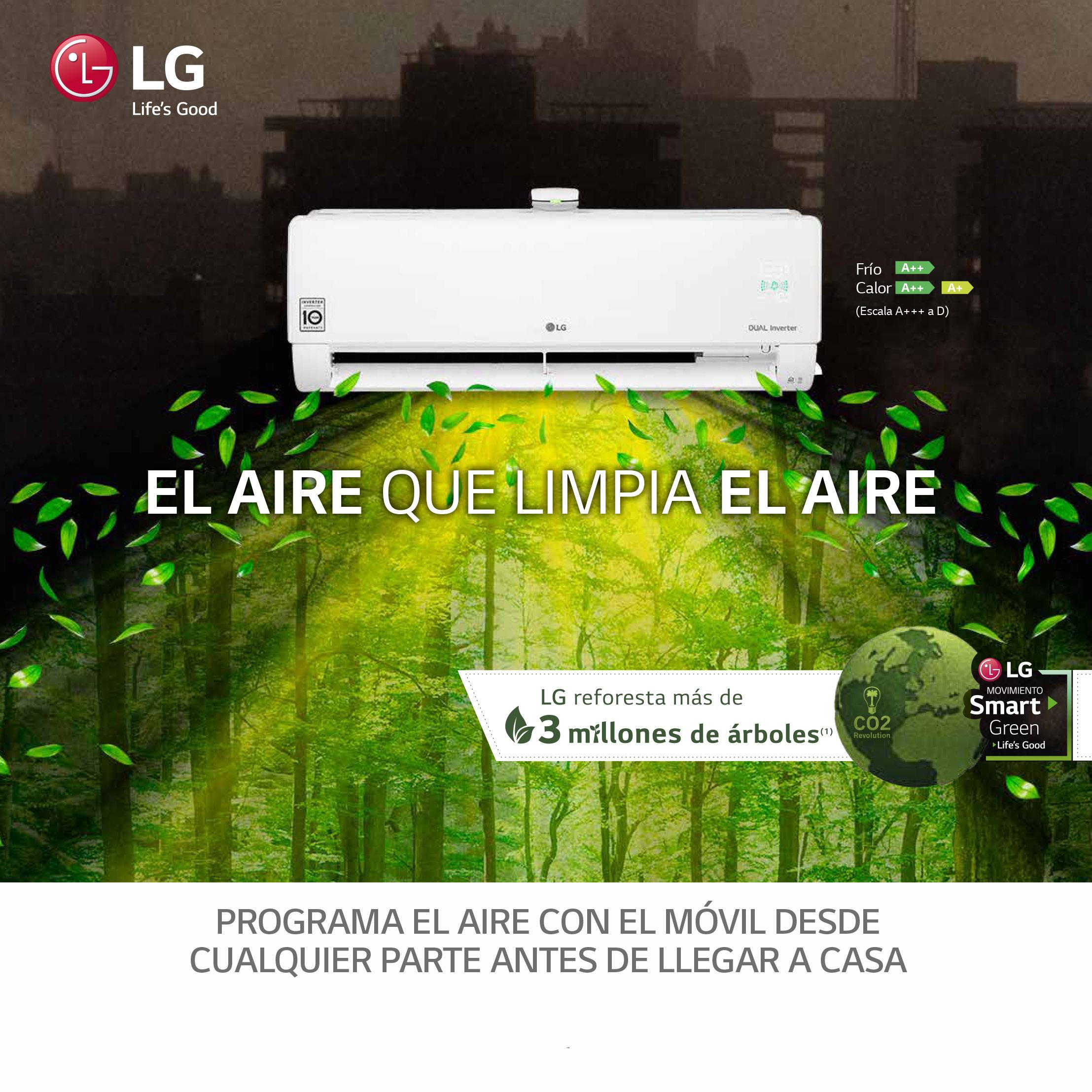 Promocion Aire acondicionado LG