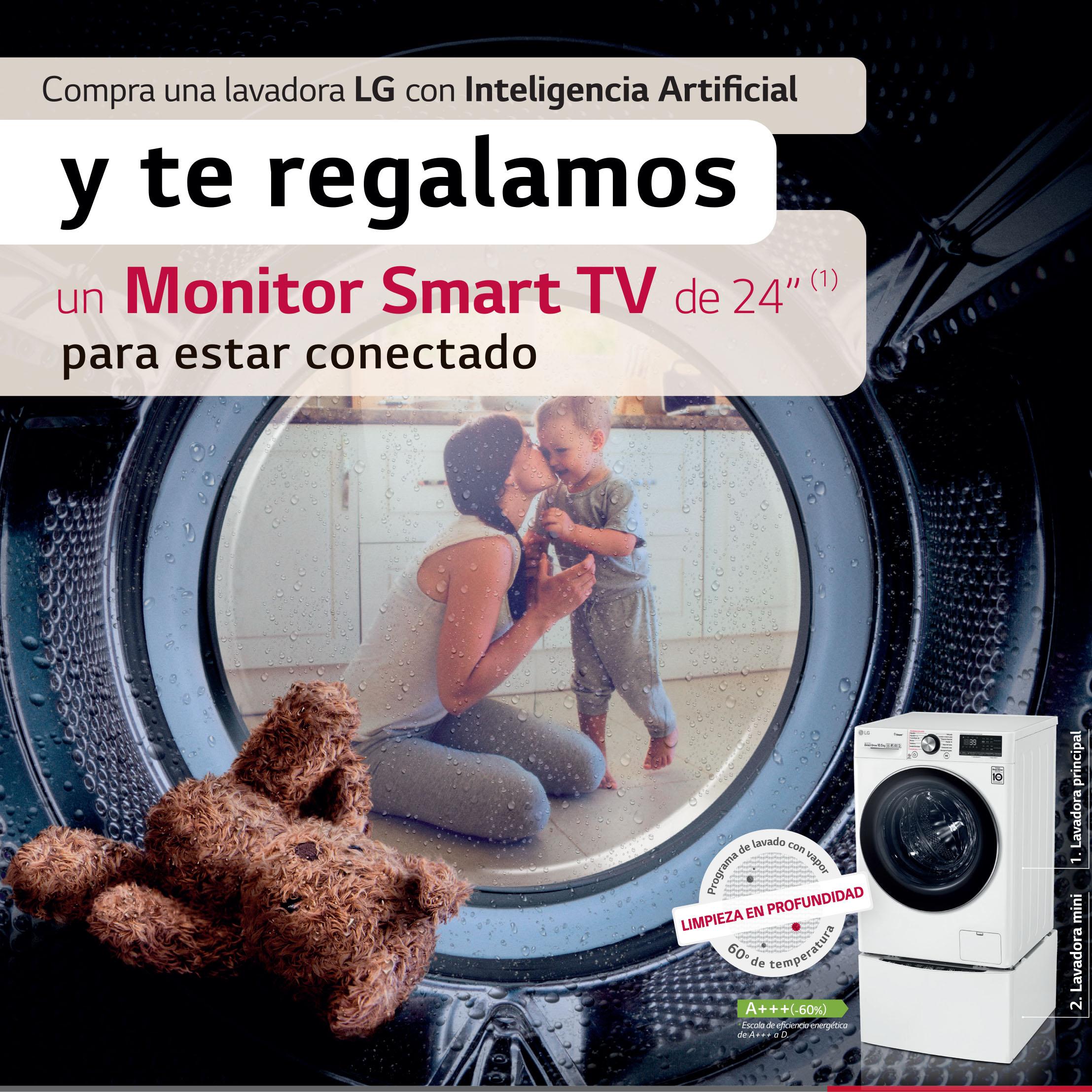 Promoción lavadora LG
